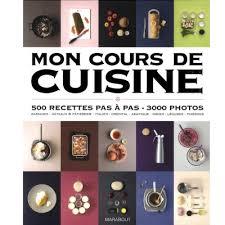 livres de cuisine marabout mon cours de cuisine aux editions marabout livres