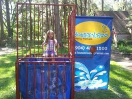 dunk booth rental dunk tank 3 rentals in jacksonville