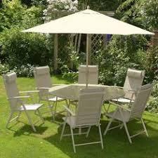 Dunelm Bistro Table Amalfi 6 Seater Patio Furniture Dining Set Garden Pinterest