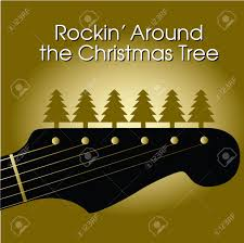 rockin u0027 around the christmas tree royalty free cliparts vectors