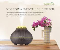 mini aroma essential oil diffuser easehold 150ml ultrasonic cool mini aroma essential oil diffuser easehold 150ml ultrasonic cool mist humidifier with color led lights changing and waterless auto shut off for office