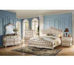 sale 4133 43 chantelle bedroom set pearl white bedroom sets