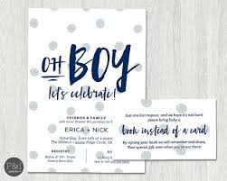 baby shower invitations for boy how to put registry on baby shower invitations sempak 832003a5e502
