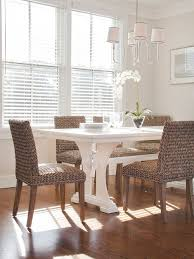 Rattan Dining Chairs Houzz - Wicker dining room chairs