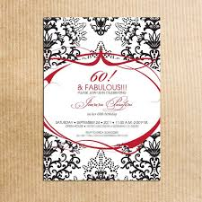 ideas for a 60th birthday invitation tags the perfect 60th