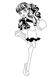 film monster high coloring pages finnegan wake monster high