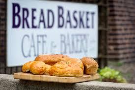 bakery basket bread basket cafe bakery