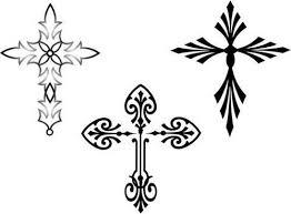 31 best cross outline tattoo designs images on pinterest cross