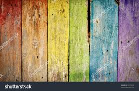 colorful wooden rainbow background stock illustration 95272624