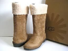 ugg womens karyn boot ugg karyn chestnut boots us6 uk4 5 eu37 ebay