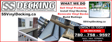 ss decking edmonton vinyl decking home