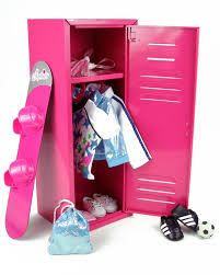 18 inch doll kitchen furniture amazon com larger than most 18 inch doll clothes locker for