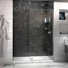 Shower Glass Doors Prices by Dreamline Linea 30 In Width Frameless Shower Door 3 8