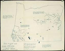 map of oregon gold mines gold placer map of oregon oregon mining