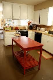 spelndid red mobile kitchen island strikingly kitchen design