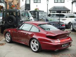 Porsche 993 911 C4s Coupe Ruf Manual Gearbox Surrey Near