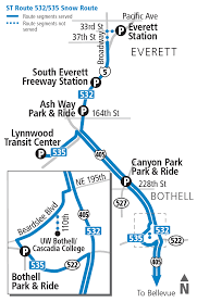 Smart Bus Route Map by Snow Routes