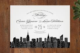 wedding invitations new york big city new york city wedding invitations by hooray creative at