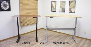 jarvis standing desk review vertdesk v3 vs jarvis desk which standing desk is best