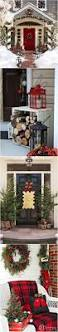 Discount Outdoor Christmas Decorations by 25 Best Christmas Front Porches Ideas On Pinterest Christmas