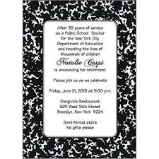 retirement invitations 25 personalized retirement party invitations rpit 18 teachers