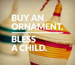 buy an ornament bless a child allume