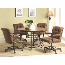 dining room table caster chairs catarsisdequiron