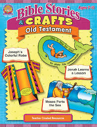 bible stories u0026 crafts old testament tcr7058 teacher created