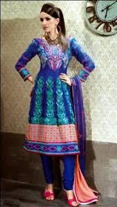 women classic fashion outstanding royal blue colour salwar