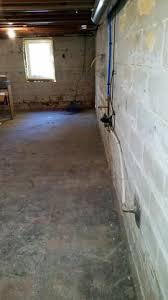 Basement Dewatering System by Peoria Il Basement Waterproofing Foundation Repair U0026 Radon
