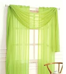 neon green window curtains sheer scarf treatments lime best silk ideas on