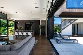 homes with modern interiors modern tropical house home floor homes small blueprints design