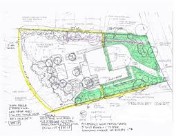 Landscape Lighting Plan Landscape Development Brewster Katonah Westchester