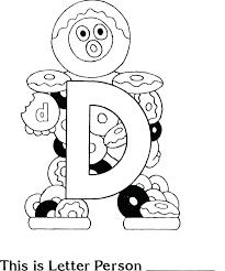 coloring pages letter d coloring sheet alphabet letter coloring