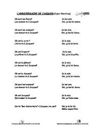 double object pronouns u2013french rap like chant with exercises and mp3