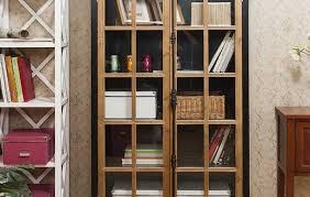 Oak Bookcases With Glass Doors Oak Bookcase Solid Oak Bookshelves Furniture Plus In Wooden Inside