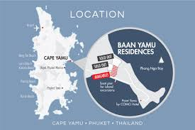 Phuket Thailand Map Baan Yamu Residences U2013 Phuket Condo Sale U0026 Rentals