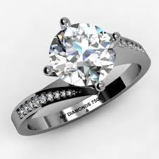 brilliant engagement rings images Arbella round brilliant diamond engagement ring ring setting 0 21ct jpg