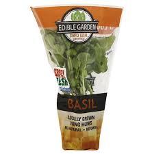 simply edible edible gardens basil bag 1 ct from stop shop instacart