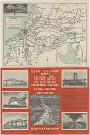 George Washington Bridge Map by Map Motor Routes To George Washington Bridge Holland Tunnel