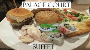 Caesars Palace Buffet Coupons by Palace Court Buffet Caesars Atlantic City Youtube