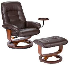 Best Leather Chair And Ottoman Bonded Leather Recliner And Ottoman Southern Enterprises