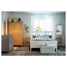 chambre hemnes ikea hemnes cadre de lit teinté blanc 160x200 cm ikea