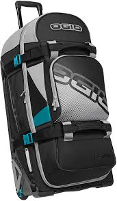 ogio motocross gear bags ogio rig 9800 wheeled le gear bag teal block mx kit bags