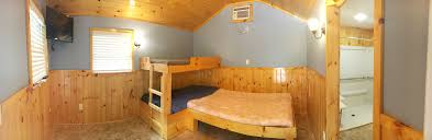 cabin with bathroom handicap accessible sea pirate campground
