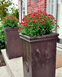 Planters On Wheels by Outdoor Planter Projects The Garden Glove