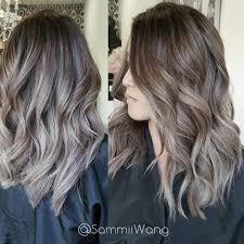silver brown hair best 25 grey brown hair ideas on pinterest ash brown hair color
