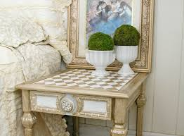 metallic paint makeover a table tale prodigal pieces