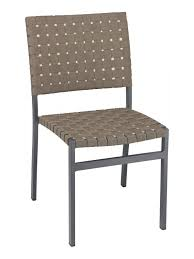 Miami Bistro Chair Outdoor Aluminum Restaurant Chairs