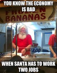 Santa Claus Meme - no christmas this year